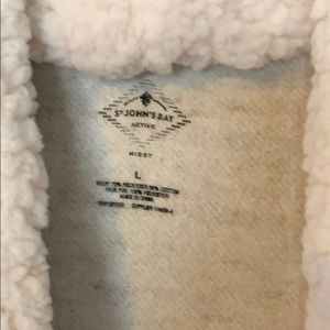 St. John's Bay Tops - Sweatshirt/cardigan